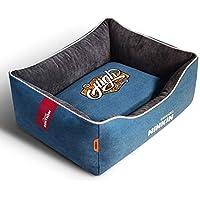 QJKai Mascota nido de lona lavable perrera gato arena para mascotas suministros