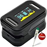 #5: Dr. Trust Signature Series Blood Oxygen Saturation and Pulse Monitor Finger Tip Pulse Oximeter