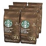STARBUCKS PIKE PLACE Roast Medium Roast Filterkaffee, Röstkaffee gemahlen, Milde Röstung, (6 x 200g)
