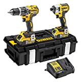 DEWALT dewpdck266p2 18 V 2 x 5.0 A LI-ION XR perceuse à percussion sans Brosses -...