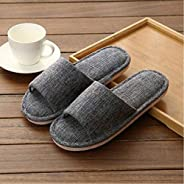 Men'S Home Slippers Solid Color Summer Home Indoor Slippers For Men And W