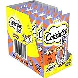 CATISFACTIONS - Mix au poulet et au canard - Friandises pour chats - Sachet de 60 g - lot de 6