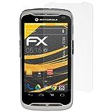 atFolix Schutzfolie für Motorola TC55 Displayschutzfolie - 3 x FX-Antireflex blendfreie Folie