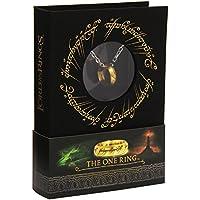Noble Collection NN1588 - Il Signore Degli Anelli: L'Unico Anello con Catena in Acciaio Inossidabile
