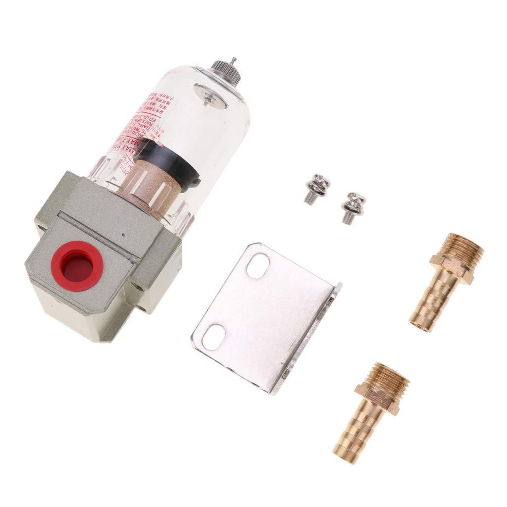 Homyl 1 Kit Universal-Ölauffangbehälter Filtern Verunreinigungen Aus Öl Und Gas - Weiß 12mm