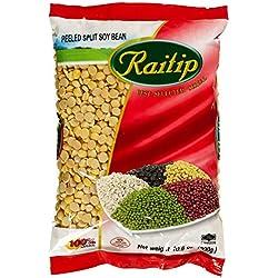 Raitip Sojabohnenkerne, geschält, gespalten, getrocknet, 12er Pack (12 x 300 g)
