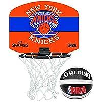 Tragbares NBA-Team-Mini-Basketball-Set von Spalding