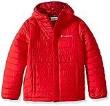 Columbia Powder Lite Puffer Doudoune Garçon, Mountain Red, FR : XXS (Taille Fabricant : XXS)