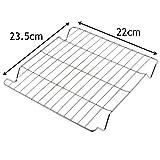 spares2go kleinen Platz Grill Pfanne Rack Einsatz Tablett für QA Ofen Kochfeld