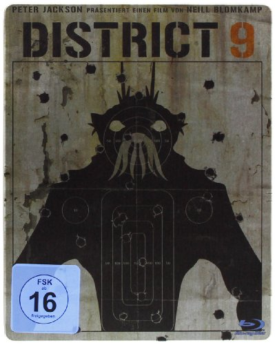District 9 (Limited Steelbook Edition) [Blu-ray] -