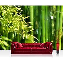 Papel pintado bambu - Papel pintado amazon ...