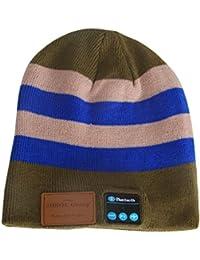 Sidiou Group Nuevo gorro inalámbrico de Bluetooth Gorra cálida de invierno  Gorro de música de Bluetooth 19eab2b7f90
