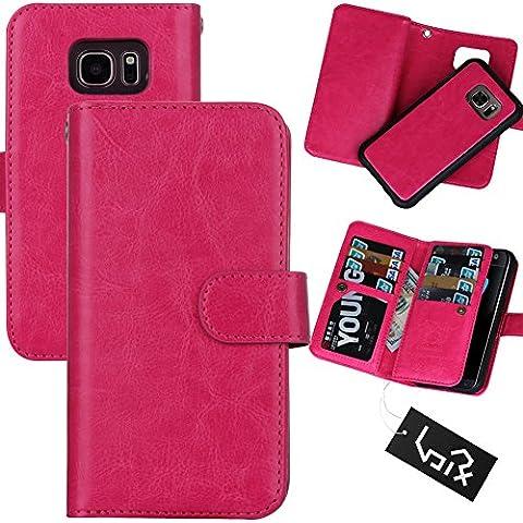 Urvoix for Samsung Galaxy S7 Edge (5.5'') Wallet Leather Flip