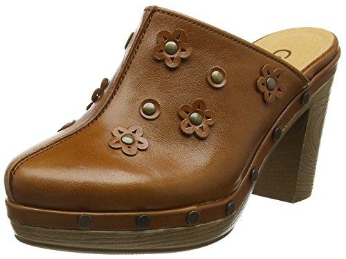 Gabor Shoes 41.791 Damen Clogs ,Braun (24 goucho) ,36 EU