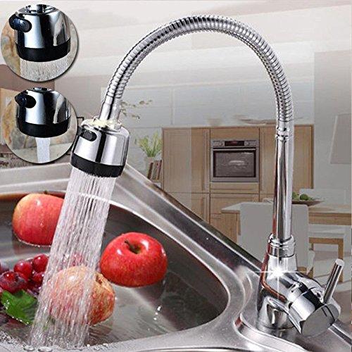Küchenarmatur Mischbatterie Catalpa Blume Wasserhahn 360° Drehbar Küche Spültischarmatur Spültisch Einhebelmischer Spülbecken