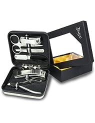 Hochwertiges Maniküre Set – ideal zur Nagelpflege – perfekt für Reisen oder unterwegs – tragbares Nagelstudio – für jeden Nageltyp