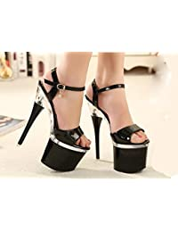 Shop Y De Cristal Complementos Zapatilla Amazon Zapatos es La 6hao w6FYY1Ux