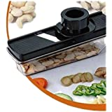 Fruit & Vegetable Compact Dry Fruit   Cutter Slicer With Holder & Container