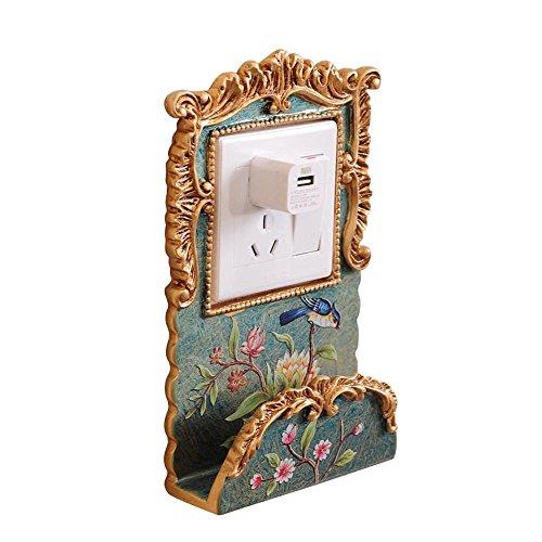 ZDDT 2pcs Pegatinas de Pared teléfono móvil Racks. Sala de Estar Dormitorio...