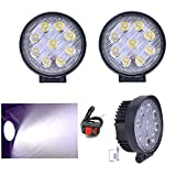 R.J.VON-Bike-Fog-light-9-led-Aux-Super-Bright-With-ON/OFF-Switch-Set-of-2-Pcs-For-Hero-Motocorp-Xtreme-Single-Disc