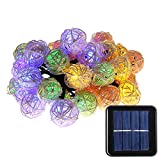 Best Outdoor String Lights - Quace Solar String Lights 6m/20ft 30 LED Water-Resistant Review