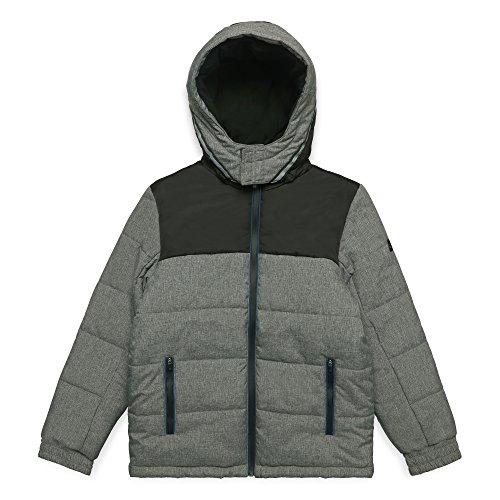 ESPRIT KIDS Jungen Jacke RM4208608 Grau (Dark Heather Grey 201) 140 (Herstellergröße: S)