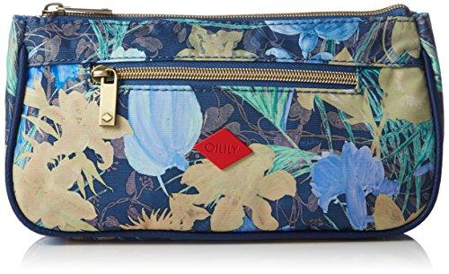 Oilily FF Basic Cosmetic Bag, Nécessaire Femme - Bleu - Blau (Blueberry 546), 23x12x5 cm (B x H x T)