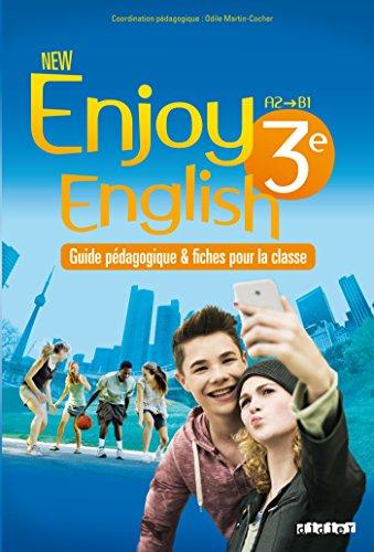 New Enjoy English 3e - Guide pdagogique + fiches