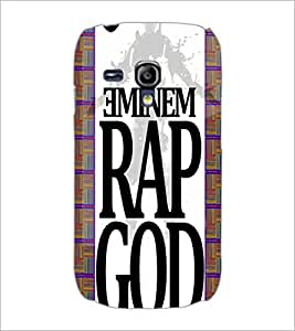 PrintDhaba Title D-4484 Back Case Cover for SAMSUNG GALAXY S3 MINI (Multi-Coloured)