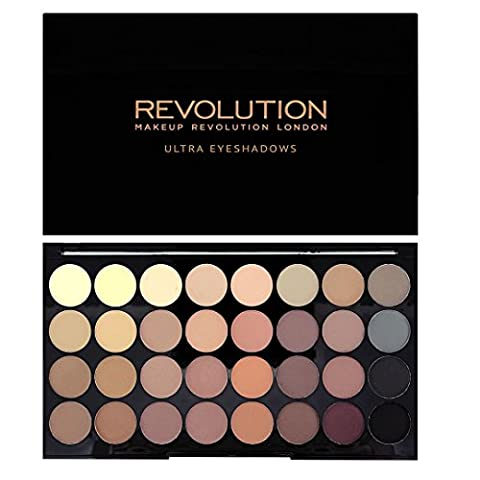 Makeup Revolution Ultra 32 Shade Eyeshades Palette FLAWLESS MATTE