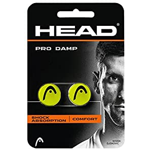 Head PRO DAMP Shock Absorption Dampeners - Pack of 2 Review 2018 from Head
