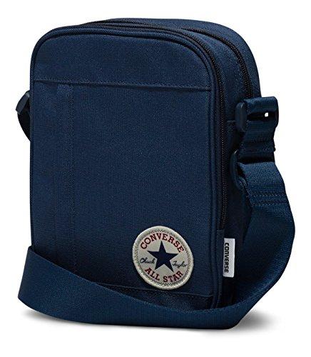 Converse Poly Cross Body Shoulder Bag, 22 cm, navy