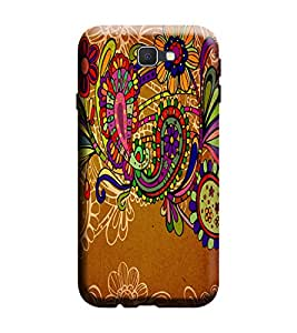 Gismo Samsung Galaxy J5 Prime Cover / Samsung Galaxy J5 Prime Back Cover / Samsung j5 prime Designer Printed Back Case - Tribal pattern Ethnic