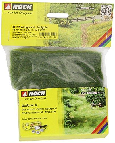 Noch 07112 - Modellismo, erba selvatica, XL, 12 mm, colore: Verde