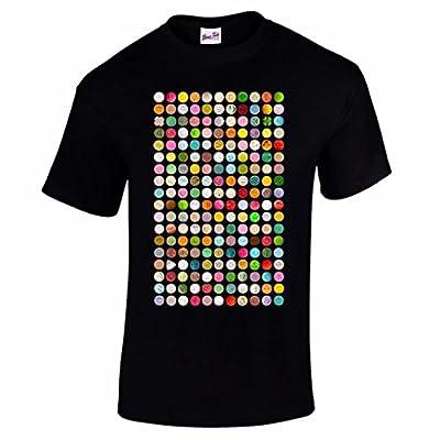 Herren Pillen Rave Festival T-Shirt