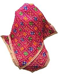 Beautiful Phulkari Dupatta In Queen Pink With New Design