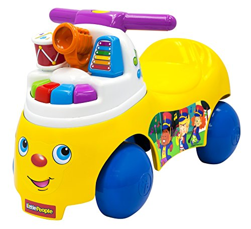 Fisher Price 8380 – LP Melody Maker Ride on, véhicule pour Enfant