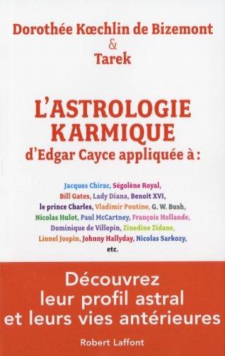 ASTROLOG KARMIQUE EDGAR CAYCE