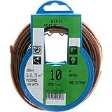 Profiplast PRP522726 Couronne de câble 10 m ho3vhh 2 x 0,75 mm Or