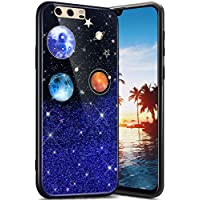 Robinsoni Cover per Huawei P10 Cover Silicone Huawei P10 Case Brillante Custodia in Gomma Morbido Flessibile Cover Antiurto Cover Bling Elegant Case Anti-Graffio Glitter Bumper Cover para Huawei P10