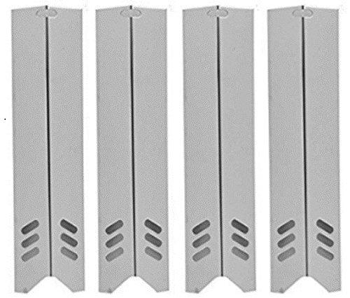 b91591 (3/5er Pack) Edelstahl Hitzeschild, Brennerabdeckung, Vaporizor Bar bzw. Flavorizer Bar. Ersatz für Gasgrillmodelle von Uniflame und Backyard