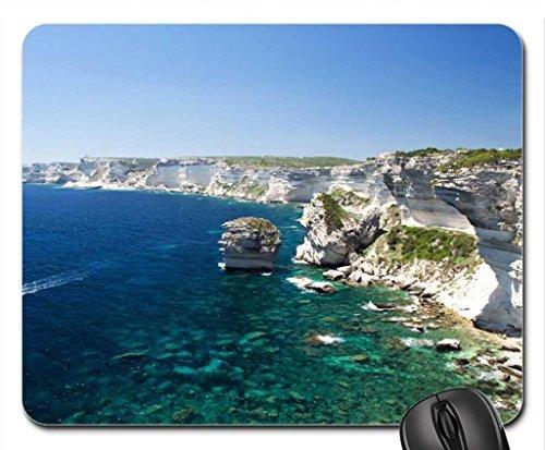 Preisvergleich Produktbild Traumhafte Aussicht von Korsika Mauspad, Mousepad (Oceans Maus Pad)