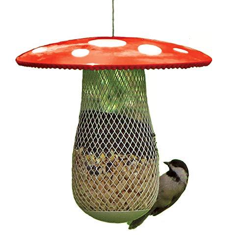 Die beste Futterstation für Wildvögel, die mehr freilebende Vögel anzieht. Füllen Sie sie mit Sonnenblumenkernen, Erdnüssen und Presslingen. Einfaches Aufhängen, Reinigen und Befüllen, ein tolles Geschenk für Freunde und Familie!