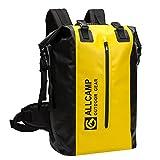 Allcamp Dry - Bag daysack 40l Wasserdichter Rucksack für Wassersport, Eine Wasserdichte Tasche für Handy und Eine Multifunktionale Tasche