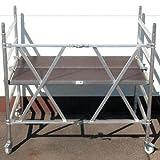 Standard-Aluminium-Klappgerüst, türengängig 1,35 x1,80 m