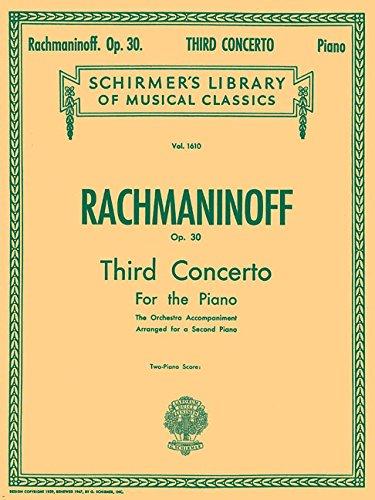 Concerto No. 3 in D Minor, Op. 30: Piano Duet (Schirmer's Library of Musical Classics)