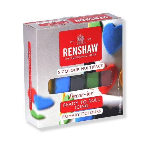 Renshaw Fondant Multipack 5x100g (Multi Fondant Pack)