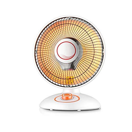 Desktop tragbare Heizgeräte,Duale Temperatureinstellung/Kann auf und ab schwingen,Mute/Schnelles AufheizenGeeignet für Wohnzimmer Büro -30 * 40cm (weiß) (Desktop Tragbares Heizgerät)