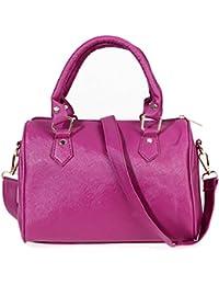 Zibuyu Hot Women Handbag Shoulder Bag Messenger Tote Purse PU Leather(white)
