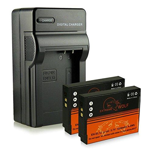 caricatore-2x-extremewolf-batteria-en-el12-per-nikon-coolpix-aw100-aw100s-aw110-aw110s-aw120-aw130-p